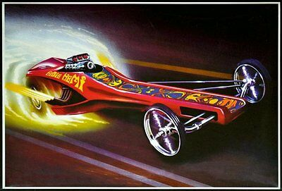 Hippie Hemi® Dragster - AMT model kit AMT-605