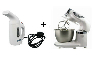 PME Cake Fondant Icing Steamer and 5 Speed Food Baking Stand Mixer UK Plug