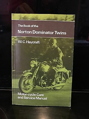 Book of the Norton Dominator Twins by W.C. Haycraft (Paperback, 1966)
