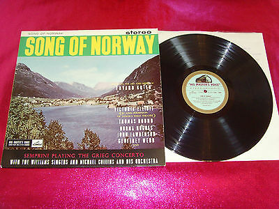 Song Of Norway-Semprini Playing The Grieg Concerto-Lp Ex+/ex/csd 1283/uk
