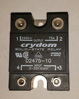**closeout** Crydom Solid State Relay D2475-10 240 Vac 75A **new**