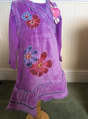 BNWT Girls Lilac 2 Piece Outfit By Mim-Pi (2 Years) **BARGAIN**