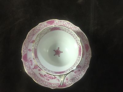 Meissen East India cup and saucer