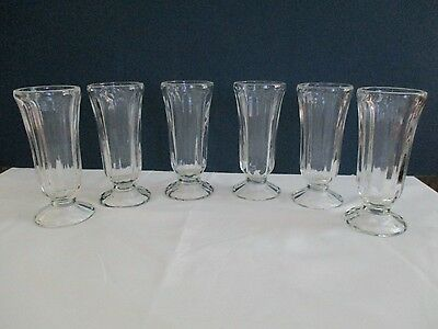 VINTAGE Clear Parfait Glasses - Vintage (Lot of 6)