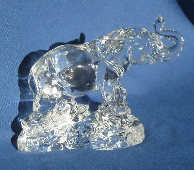 ELEPHANT New Princess House Lead Crystal Wonders Wild