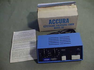 Accura Electronic Enlarging Timer Model 30