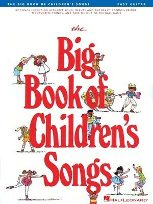 Big Book Of Children's Songs For Easy Guitar *NEW* Sheet Music