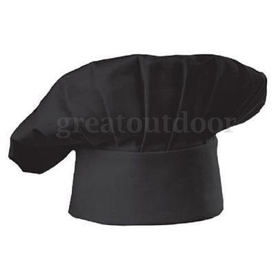 Chef Hat Restaurant Baker Cap Cotton One Size Fit All Hotel Kitched Cooling US