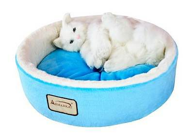 Armarkat Cat Bed in Sky Blue & Ivory [ID 67977]