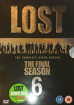 LOST SEASON 6 HMV SPECIFIC DVD RET - DVD  G2VG The Cheap Fast Free Post