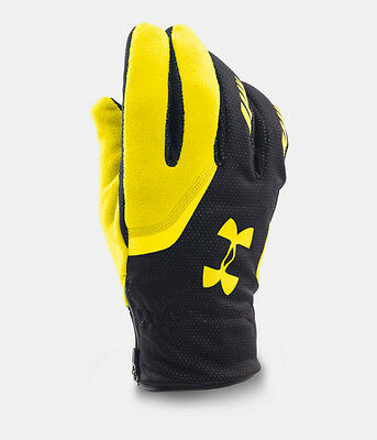 Mens L / XL UNDER ARMOUR UA Extreme Coldgear Infrared Reflective Running Gloves