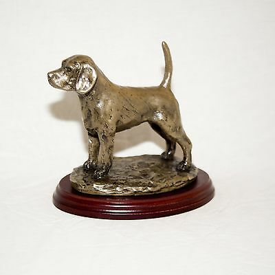 BEAGLE  Bronze Figurine. Hand made in England. Ideal gift.
