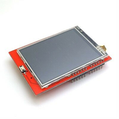 2.4 TFT LCD Shield Socket Touch Panel Module for Arduino UNO R3 hot PY