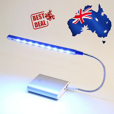 10 LED USB Portable Lamp Light for Laptop Notebook PC ZX