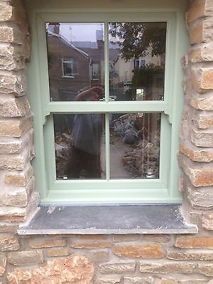 Upvc A Rated Double Glazed Box Sash Windows Chartwell Green £299 +Vat Any Size