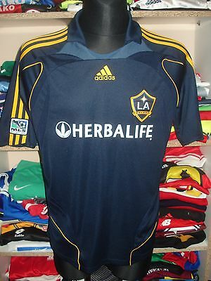 LOS ANGELES GALAXY 2007/2008 AWAY SHIRT SIZE M JERSEY CAMISETA (e989)