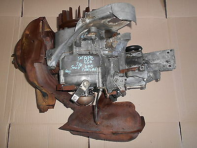 ENGINE Motor ENGINE PIAGGIO APE 500 501 550 600 WITH PINS initials MPA1M PETROL