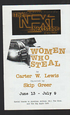 Women Who Steal Nextstage Program 2000 Peggy Cosgrave