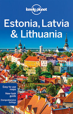 Lonely Planet ESTONIA LATVIA  LITHUANIA (Travel Guide) - BRAND NEW PAPERBACK
