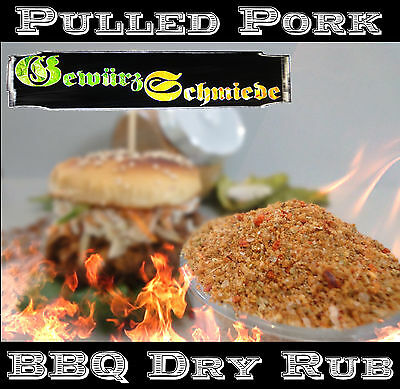 250g Pulled Pork BBQ Rub Grillgewürz Spare Ribs Magic Dust Smoker Grill Barbecue