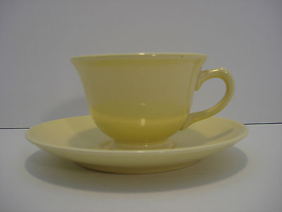 TS&T Luray Cup and Saucer yellow