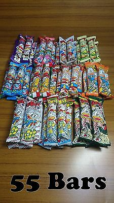 Umaibo 11kinds Each 5 Bars, Total 55 Bars.Free shipping