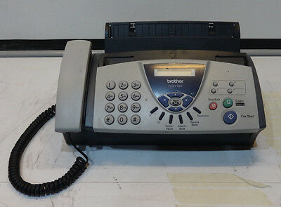 Brother FAX T104 Monochrome Thermal Transfer Fax / copier