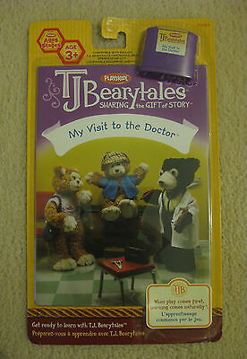 TJ BEARYTALES  MY VISIT TO THE DOCTOR  book  & cartridge  *BRAND NEW IN PACKAGE*