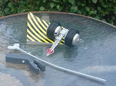 """Original Bbc Robot Wars """"stringer Ripcorded Robot """" As Issued,complete,good"""