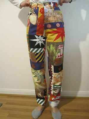 vintage moschino high waisted trousers 6