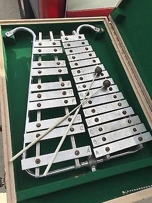 Marching Band Xylophone W/ Sturdy Hard Case & MUSSER M4 Mallets
