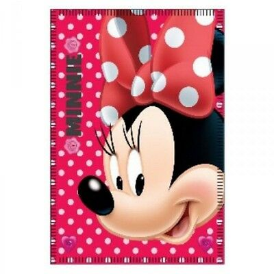 Couverture - Plaid polaire Minnie 140 x 100 cm
