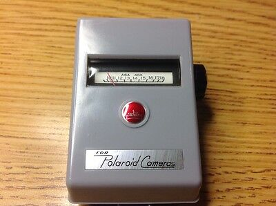 WALZ For Polaroid Cameras Exposure Meter WITH CASE