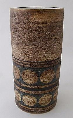 Stylish Early Troika St Ives Cornwall Pottery Vase By Sylvia Vallence