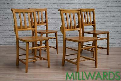 Vintage Church Chapel Kitchen Dining Cafe Bar Pub Chairs 20 AVAILABLE (inc VAT)