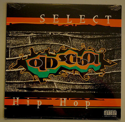 ★★Lp Us**various - Oldschool Hip Hop (Select Rec. '95 / Cover Cut-Out)★★14725