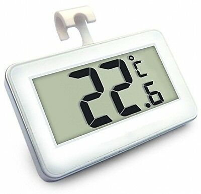 Digital Freezer Thermometer Wireless Refrigerator Thermometers And Indoor LED