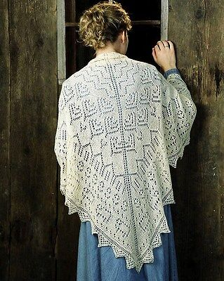 THE SHEEP SHAWL by EVELYN CLARK FIBER TRENDS