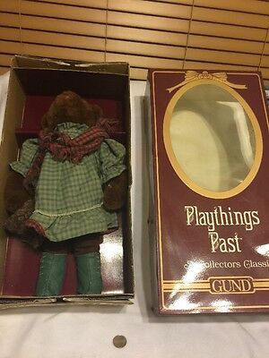 Play Things Of The Past A Collectors Classic Teddy  Bear