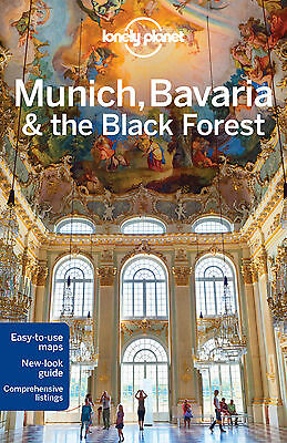 Lonely Planet MUNICH BAVARIA & BLACK FOREST 5 (Travel Guide) - BRAND NEW