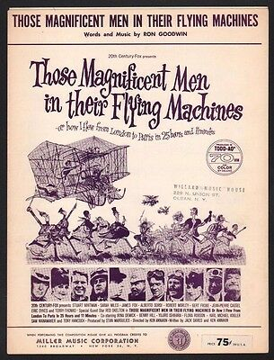 Those Magnificent Men In Their Flying Machines 1965