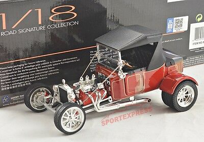 NEW 1/18 LUCKY DIECAST 92829 Ford T-Bucket 1923, HOT ROD