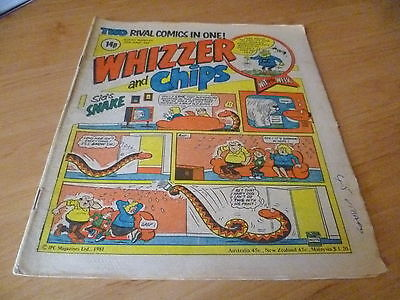 Whizzer and Chips Comic , 20th June 1981
