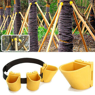 BG87 Gardening TPR Fruit Tree Fixation Support Tool Plant Windbreak Protection