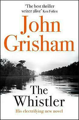 Whistler: The Number One Bestseller by John Grisham Compact Disc Book Free Shipp