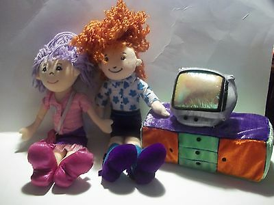 Groovy Girl Doll Celeste Plush Doll And Plush Tv Stand