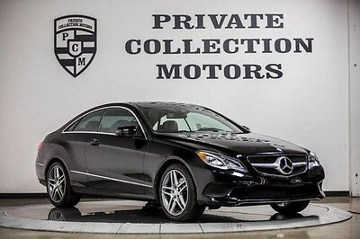 2014 Mercedes-Benz E-Class Base Coupe 2-Door 2014 Mercedes Benz E350 Coupe AMG Sport Package Highly Optioned Pristine