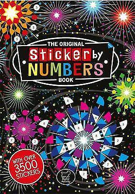 The Original Sticker by Numbers Book (Sticker Activity) by Joanna Webster PB NEW