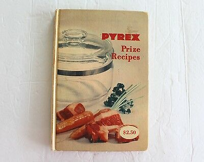 Vintage Pyrex Cookbook 1953 Prize Recipes Many Color Pictures of Pyrex Hardcover