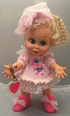 Galoob 1990 Baby Face- So Innocent Cynthia Doll-She Looks So Trusting #7
